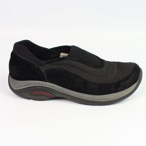 Merrell Jungle Equinox black suede moc shoe